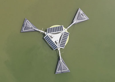 Solar Powered Mixing System