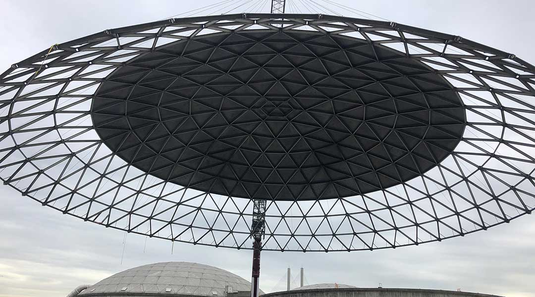 Annacis Island Dome Cover
