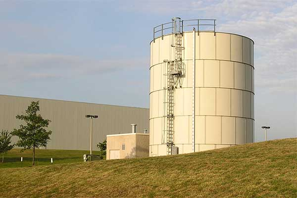 Fire Protection Liquid Storage Tank