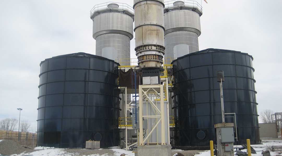 Food Processing Storage Tanks