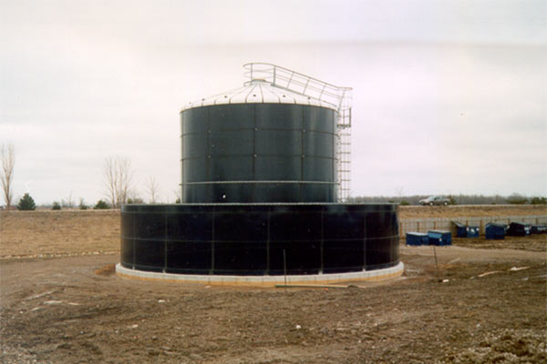 leachate liquid storage containment